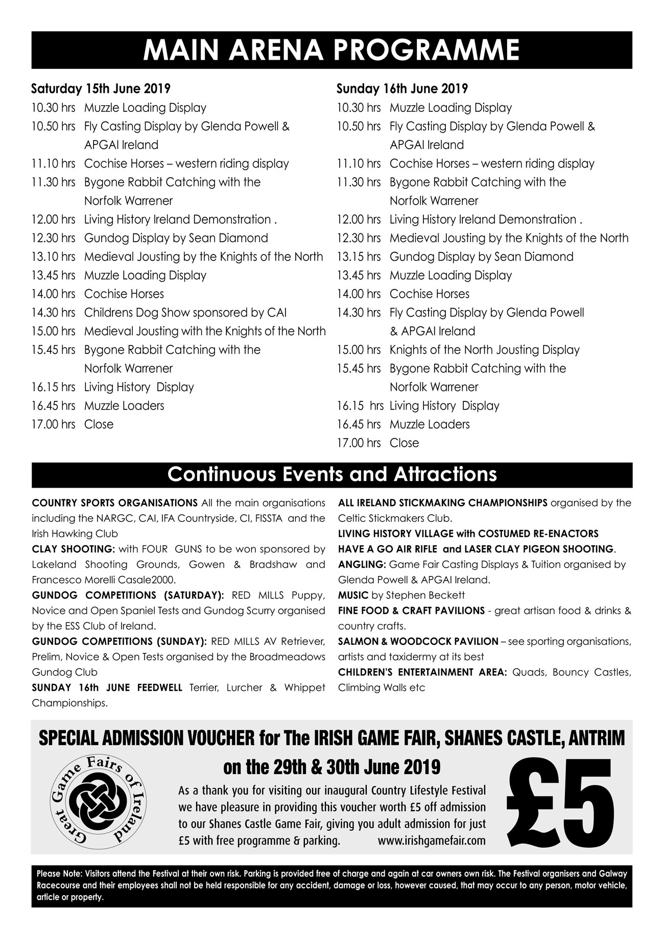 Galway Programme 2019